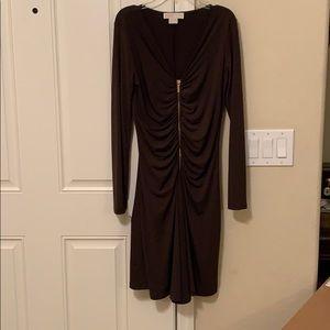 🔥🔥🔥Sexy Michael Kors brown cocktail dress